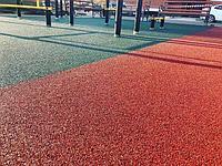 Тартановое покрытия - бесшовные покрытия из цветной резиновой крошки для детских и спортивных площадок