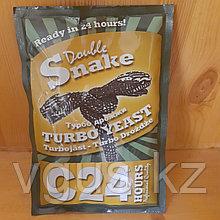 Дрожжи Double Snake C24 Turbo yeast 175гр.