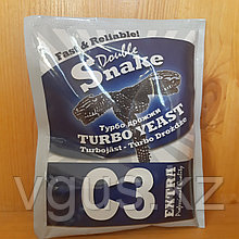 Дрожжи Double Snake C3 Turbo yeast 90гр.