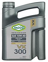 Полусинтетическое моторное масло Yacco VX 300 10W40 4л