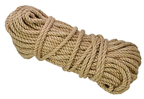 Верёвка джутовая 19 мм