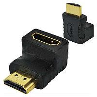 Переходник Measy HDMI K-H12.Перех.Male-Female.90градусов(ТипLP2)
