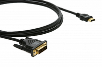 Кабель-переходник Kramer C-HM/DM-15 (4,6м) HDMI(m)-DVI(m) 4K@60Hz (4:2:0) (8544429007)