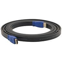 Кабель Kramer C-HM/HM/FLAT/ETH-10 (3м), 4K@60Hz (4:4:4) +Ethernet