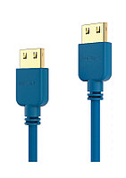 Кабель PI0502-020 HDMI Cable - PureInstall - Slim 2,00m - Blue