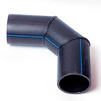 Отвод 3-сегментный сварной 90° PE-100 SDR11-PN16 225 мм