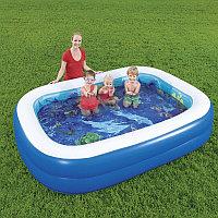 Детский надувной игровой бассейн 262х175х51 см, Bestway 54177