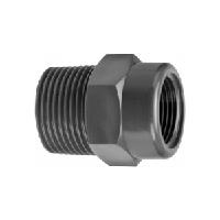 Муфта ПВХ с наружной резьбой 110х101,6 мм