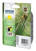 Картридж EPSON C13T11244A10 (0824) R270/290/RX590 желтый | [оригинал]
