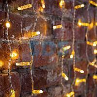 """Гирлянда """"Светодиодный Дождь"""" 2х3м,  постоянное свечение,  прозрачный провод,  230 В,  диоды ТЕПЛЫЙ БЕЛЫЙ,"""