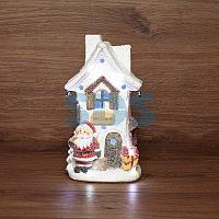 Керамическая фигурка «Белый домик» 15.7х11.7х28.4 см