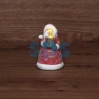 Керамическая фигурка «Дед Мороз со свечкой» 7х7х12 см