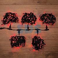 """Гирлянда """"LED ClipLight"""" 24V,  5 нитей по 20 метров,  цвет диодов Красный,  Flashing (Белый)"""
