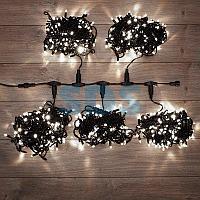 """Гирлянда """"LED ClipLight"""" 24V,  5 нитей по 20 метров,  цвет диодов Белый,  Flashing (Белый)"""