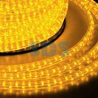Гирлянда «Дюралайт» светодиодная,  6 м,  IP65 с 2 коннекторами,  диоды жёлтые