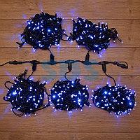 """Гирлянда """"LED ClipLight"""" 24V,  5 нитей по 20 метров,  цвет диодов Синий,  Flashing (Белый)"""