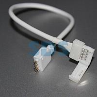 Коннектор соединительный для RGB светодиодных лент шириной 10 мм и контроллеров LAMPER