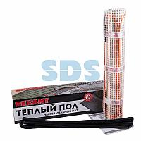 Теплый пол,  нагревательный мат REXANT Extra,  двухжильный,  площадь 7 м²,  0.5х14 м,  1120 Вт