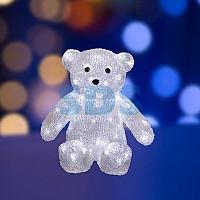 """Акриловая светодиодная фигура """"Медвежонок"""" 30 см,  80 светодиодов,  IP65, понижающий трансформатор в"""