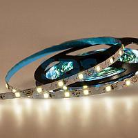 LED лента 12 В,  6 мм,  S-образная плата,  IP65 (напыление силикона),  SMD 2835, 60 LED/m,  цвет свечения