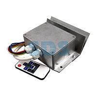 Контроллер для белт-лайта,  светодиодные лампы 220 В,  3500Вт 4 кан.  х 4,0 А,  ДУ IP54