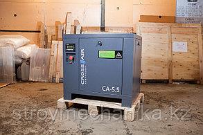 Винтовой компрессор Crossair CA 5.5-10 RA (0,6 м3/мин, 5,5 кВт)