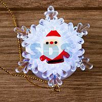 """""""Дед мороз на снежинке"""" RGB 5,5*5,5 см"""