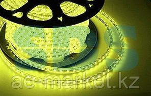 LED лента 220 В,  13х8 мм,  IP67, SMD 5050, 60 LED/m,  цвет свечения желтый