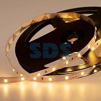 LED лента 24 В,  8 мм,  IP23, SMD 2835, 60 LED/m,  цвет свечения теплый белый (3000 К)