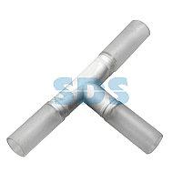 T - коннектор для трехжильного дюралайта ∅13мм (цена за 1 шт. )