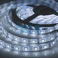 LED лента 24 В,  10 мм,  IP65, SMD 5050, 60 LED/m,  цвет свечения белый (6000 К)