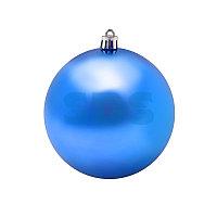 Елочная фигура «Шар» Ø 10 см, цвет синий глянцевый
