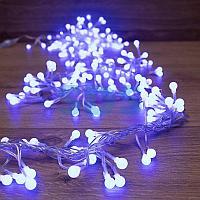 "Гирлянда ""Мишура LED"" 6 м прозрачный ПВХ,  576 диодов,  цвет синий"