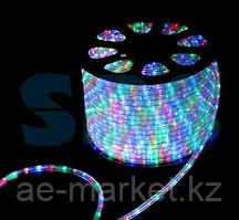 Дюралайт LED,  свечение с динамикой (3W) - мульти (RYGB),  30 LED/м,  бухта 100м