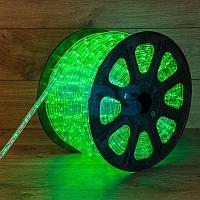 Дюралайт LED,  свечение с динамикой (3W) - зеленый,  36 LED/м,  бухта 100м