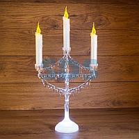 "Фигура на подставке ""Подсвечник со свечками"" 50 см"