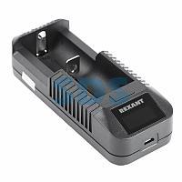 Универсальное зарядное устройство для 1 АКБ с ЖК дисплеем i1 REXANT