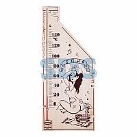 Термометр для сауны,  основание — дерево 110х265 мм REXANT