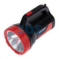 Прожектор поисковый с головным и боковым светом,  со встроенным аккумулятором и встроенным зарядным