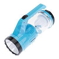Фонарь туристический/поисковый/кемпинговый с Powerbank,  аккумулятор,  головной + боковой свет,  солнечная