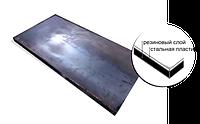 Резиновые пластины с металлической подложкой
