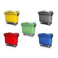 Крупногабаритный контейнер для мусора на 660 литров.Иран., фото 2