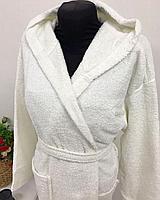 Банный белый халат, фото 2