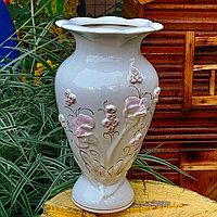 Ваза для цветов керамическая Маки