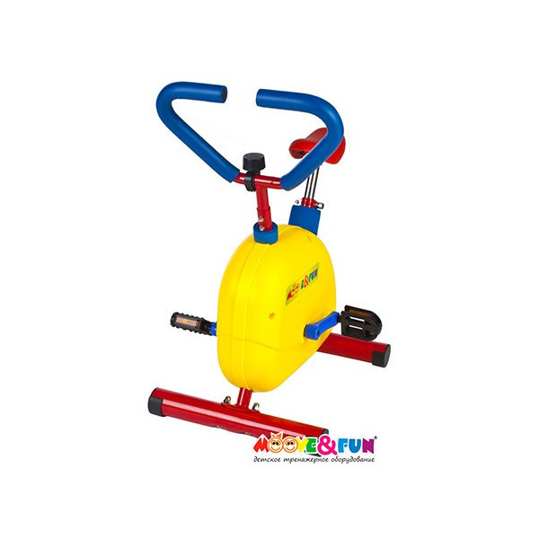 "Тренажер детский механический Moove&Fun ""Велотренажер"" (TFK-02/SH-002W) SH-002W - фото 2"