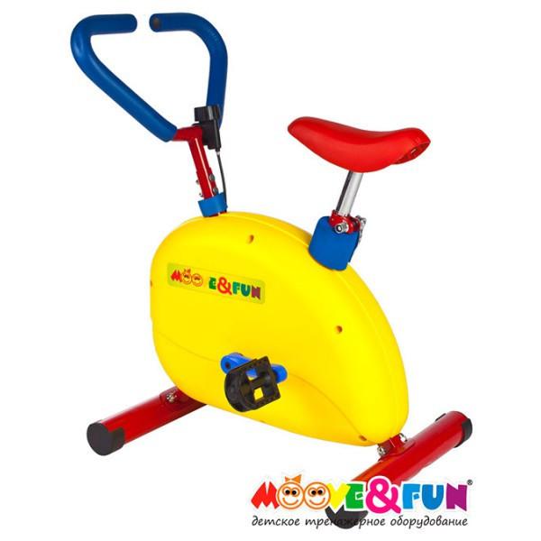 "Тренажер детский механический Moove&Fun ""Велотренажер"" (TFK-02/SH-002W) SH-002W - фото 1"