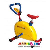 """Тренажер детский механический Moove&Fun """"Велотренажер"""" с компьютером (SH-02C) SH"""