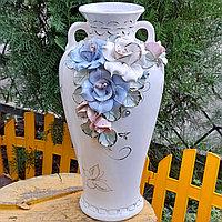 Ваза для цветов керамическая Нирвана
