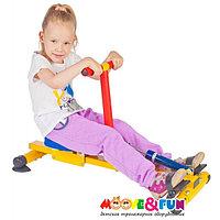Тренажер детский механический Moove&Fun гребной с одной рукояткой (TFK-04-A/SH-04-A) SH-04-A