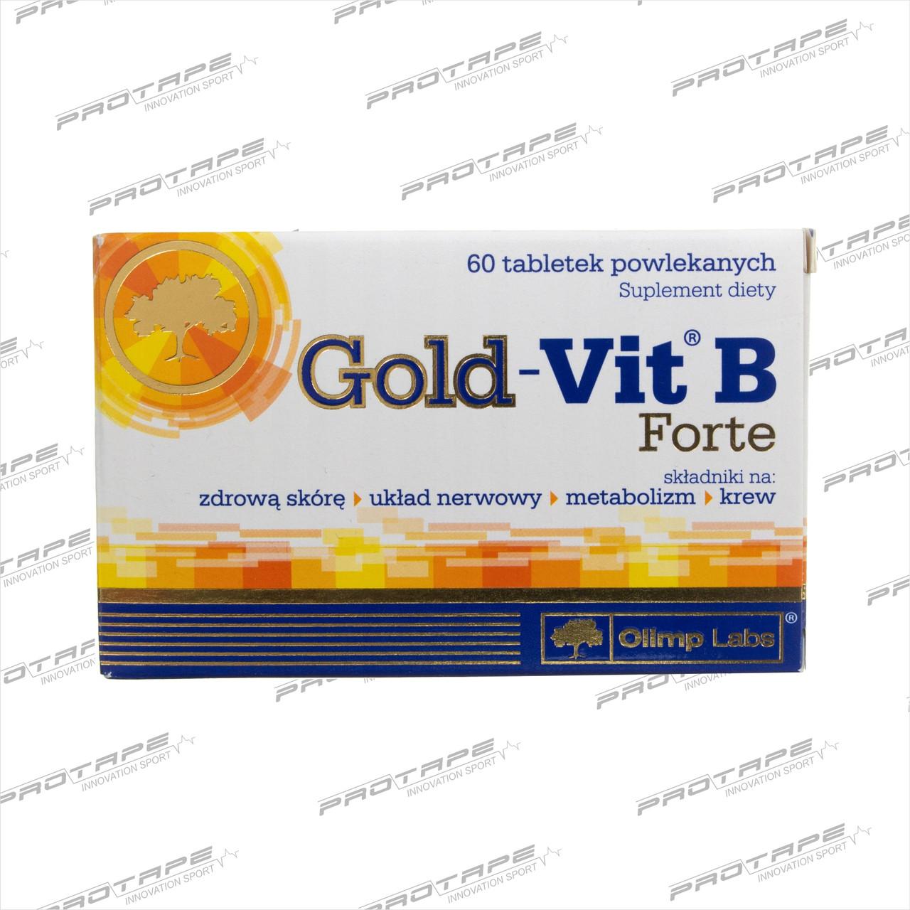 Биологически активная добавка OLIMP Labs Gold-Vit B Forte 60 таблеток / Olimp PL